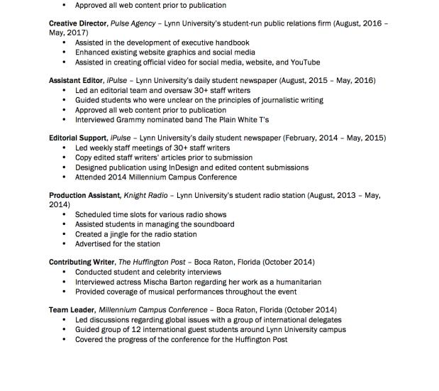Resume p 2