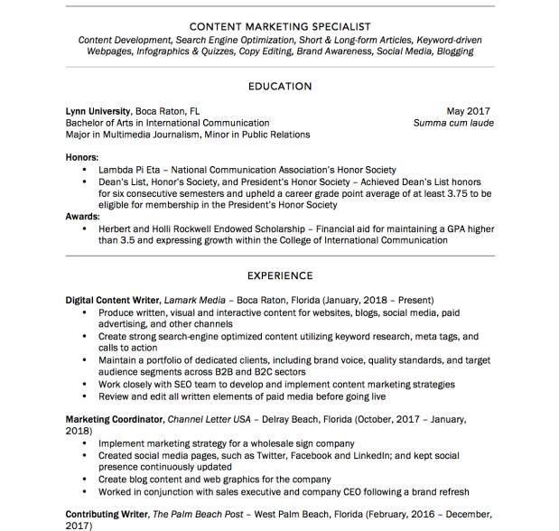 Trumpfeller Resume pt 1